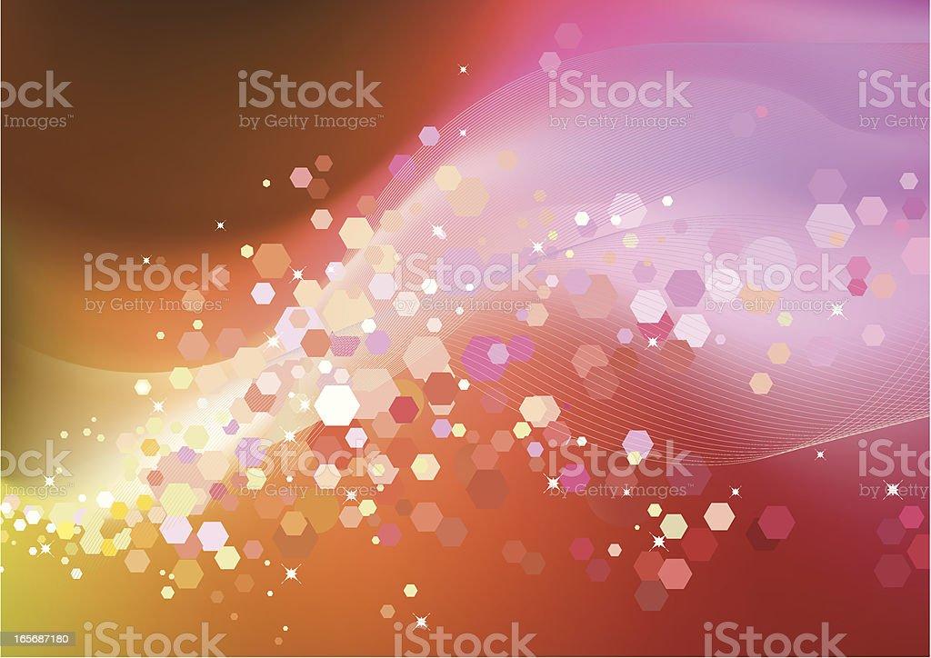 soft lights royalty-free stock vector art