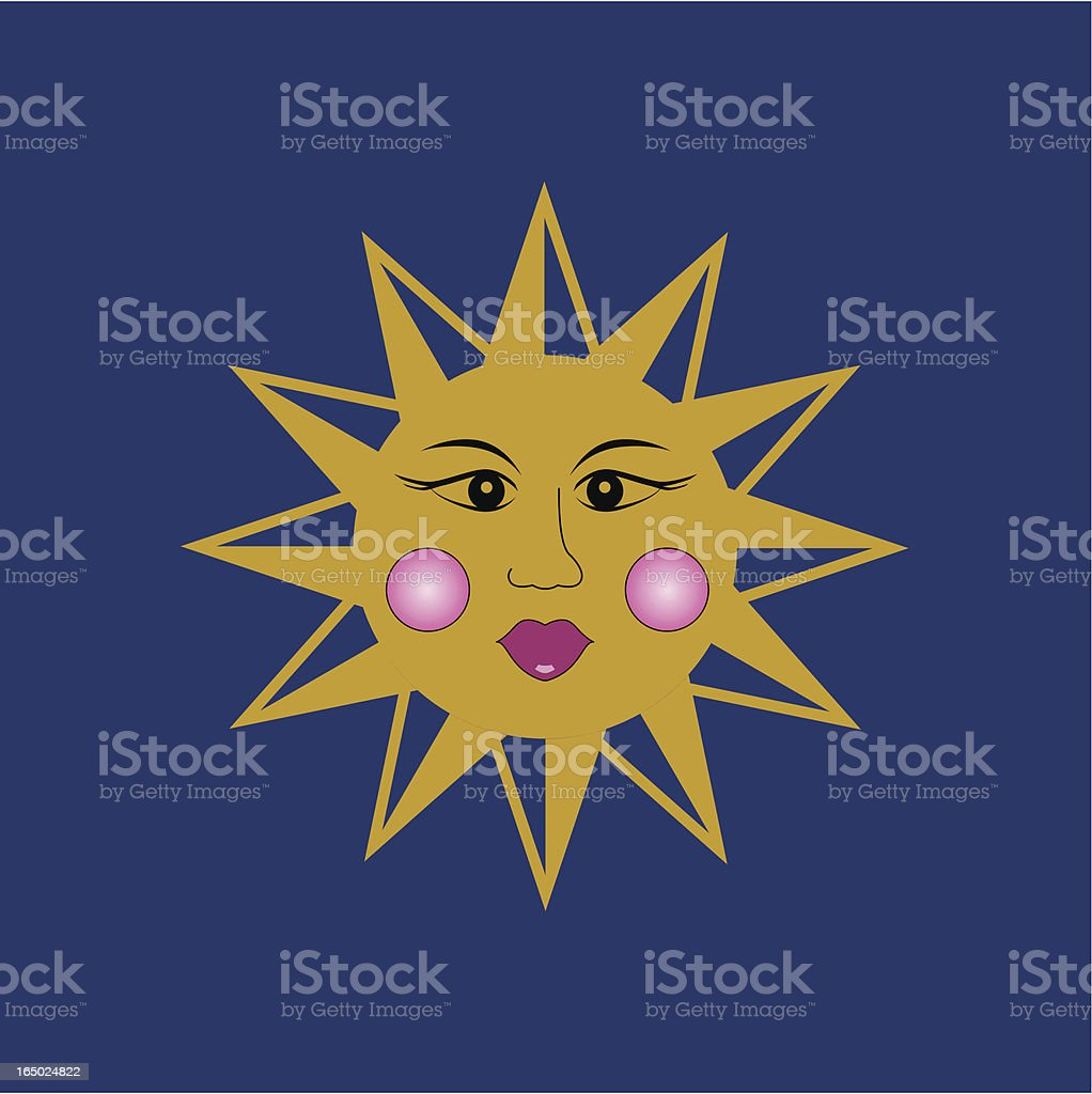 Sol - Vector Sun (Hi Res jpeg included) royalty-free stock vector art