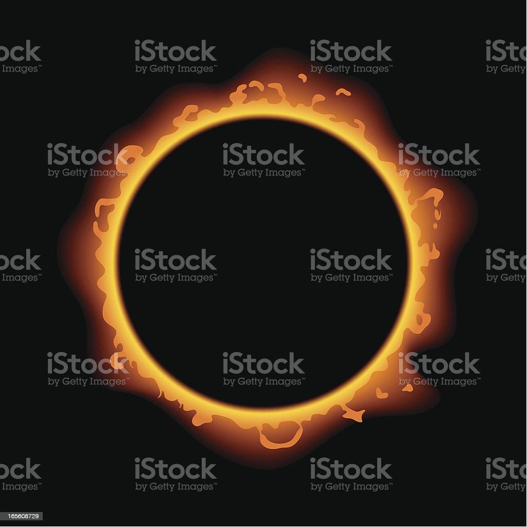 Solar Eclipse royalty-free stock vector art