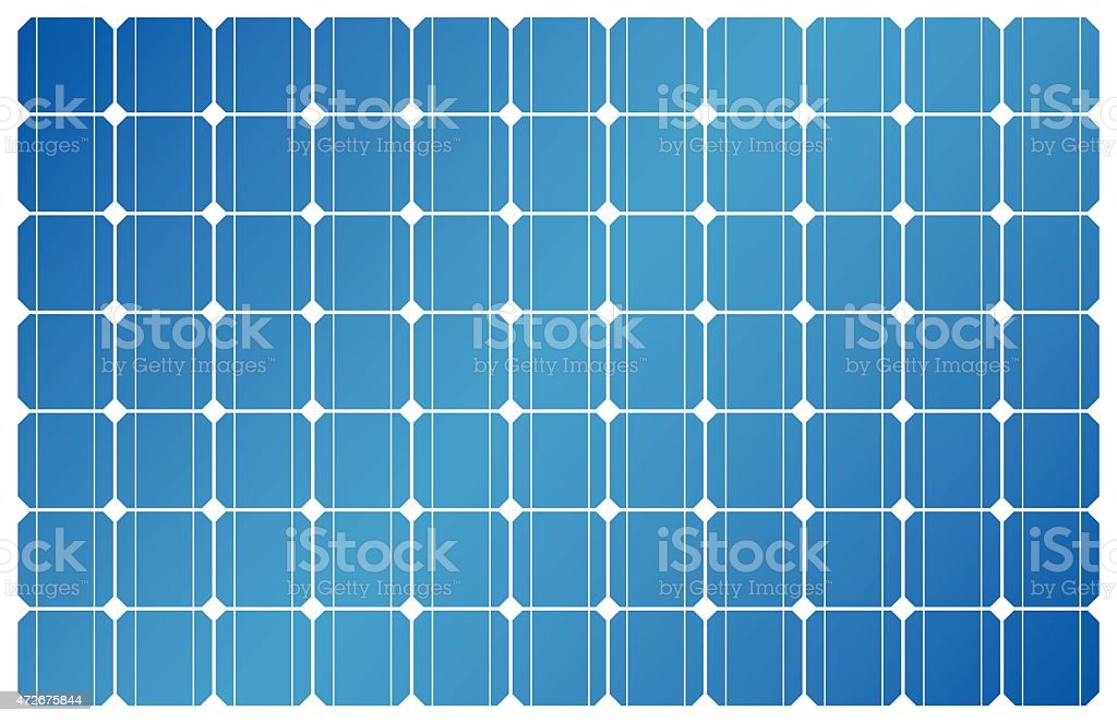 Solar Panel, Solar Power, Solar Cell vector art illustration