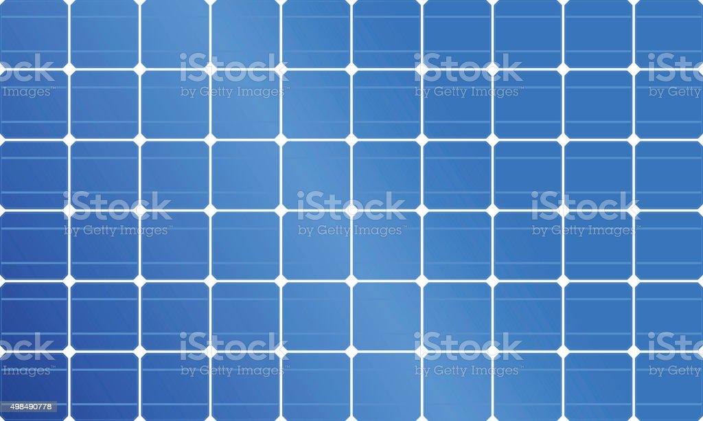 Solar Panel, Solar Power, Solar Cell vector art illustration