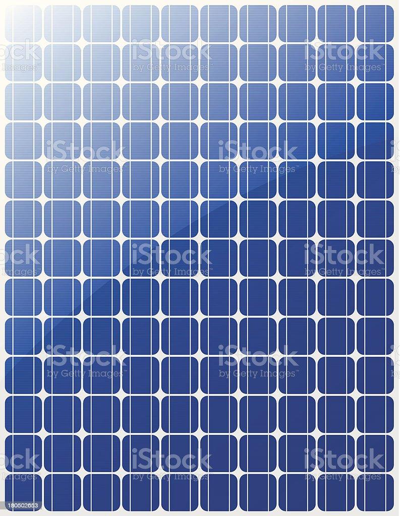 Solar panel vector vector art illustration