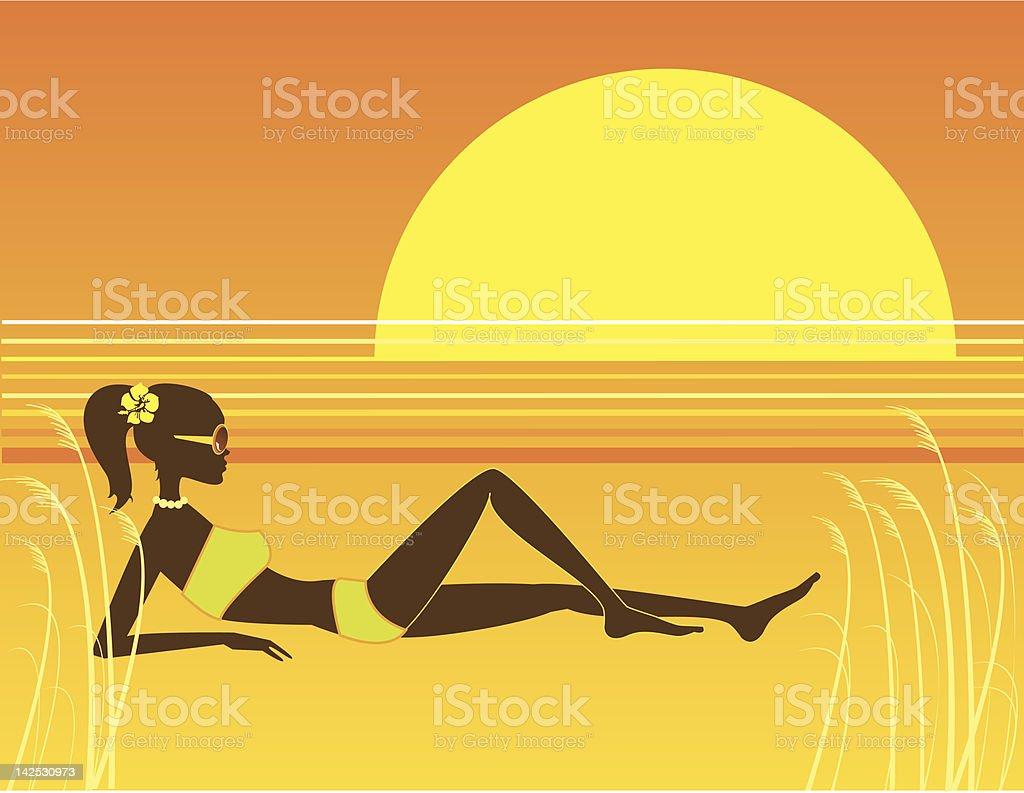 Solar vector art illustration