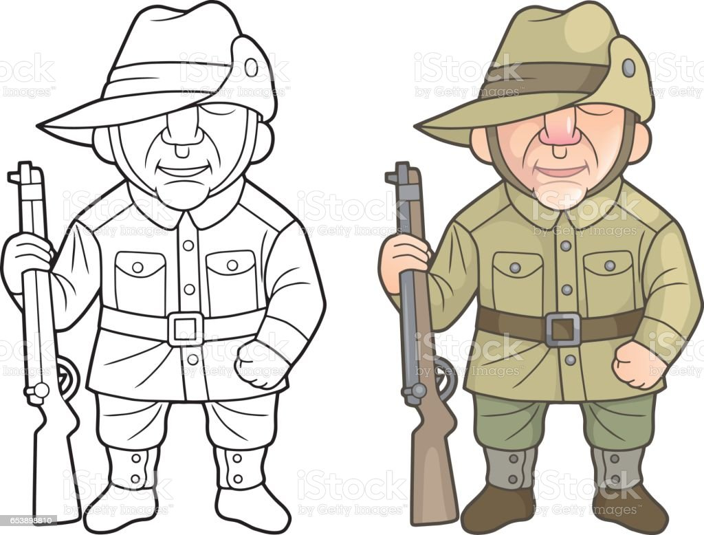 soldiers of the australian army stock vector art 653898810 istock