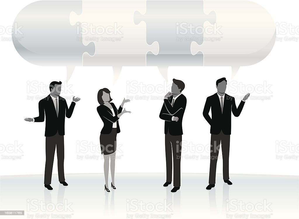 Solution Experts royalty-free stock vector art