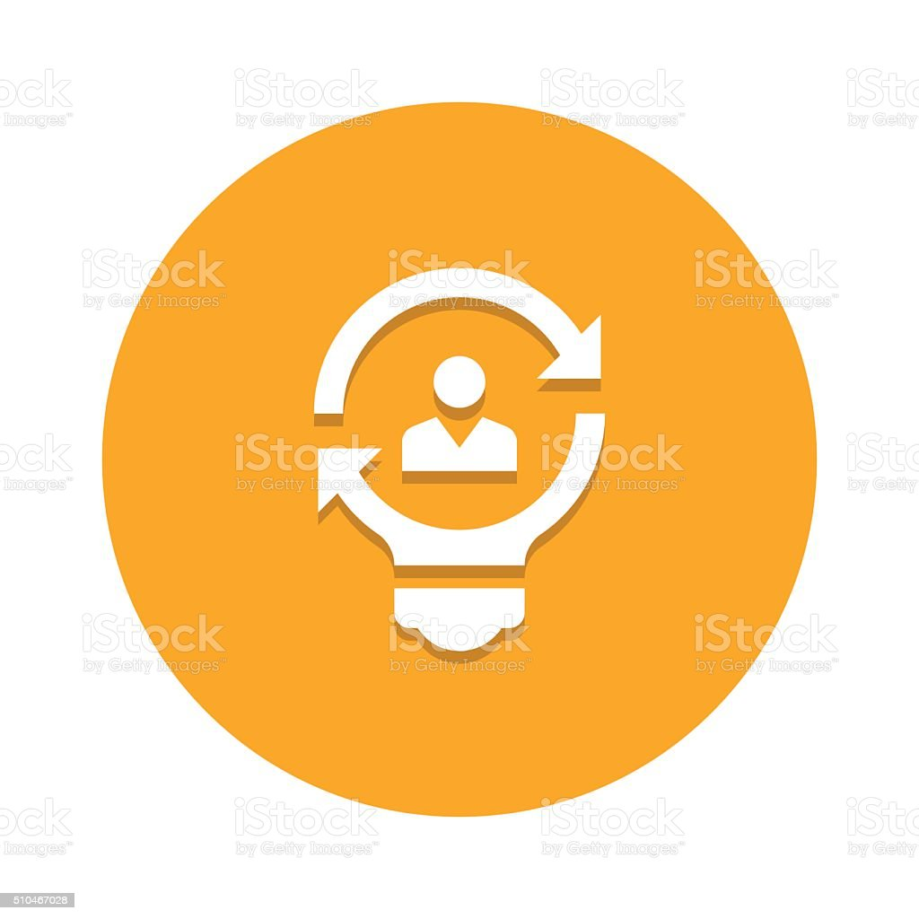 Solutions vector icon graphic vector art illustration