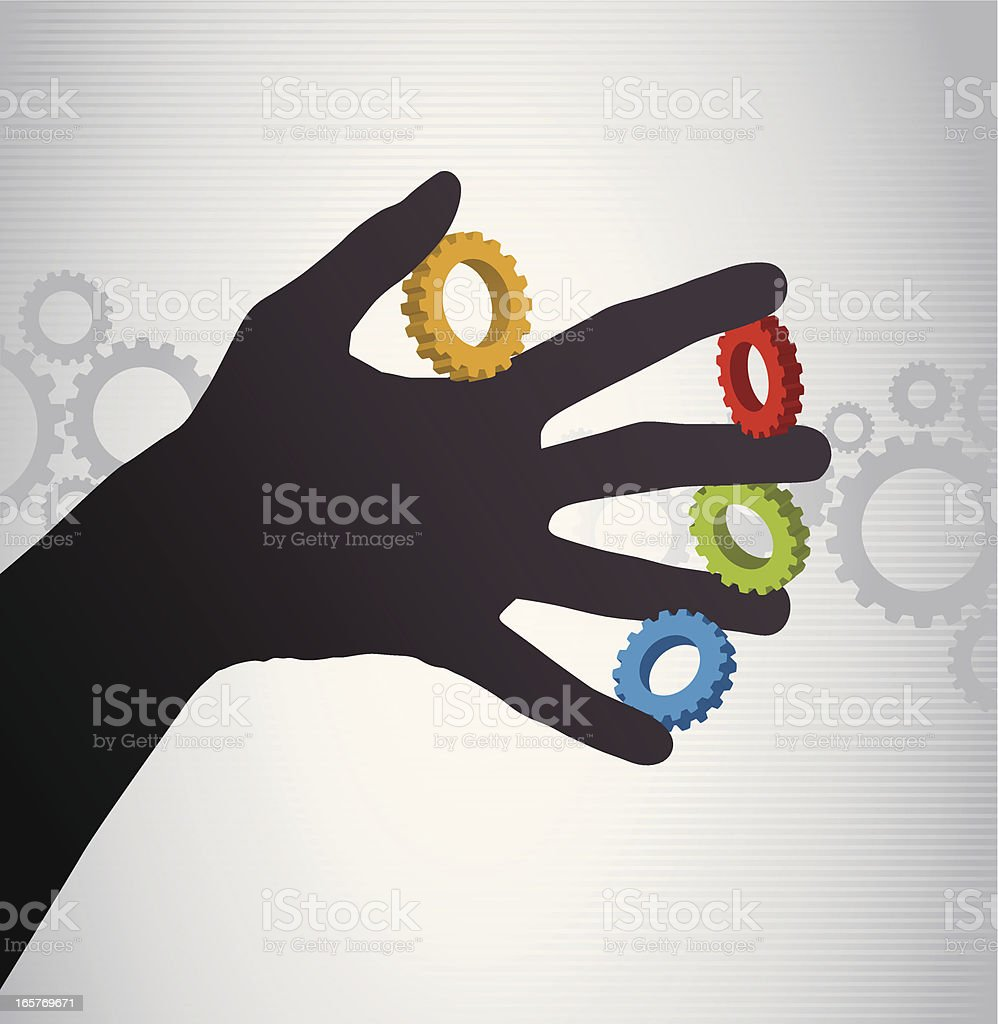 Solutions royalty-free stock vector art