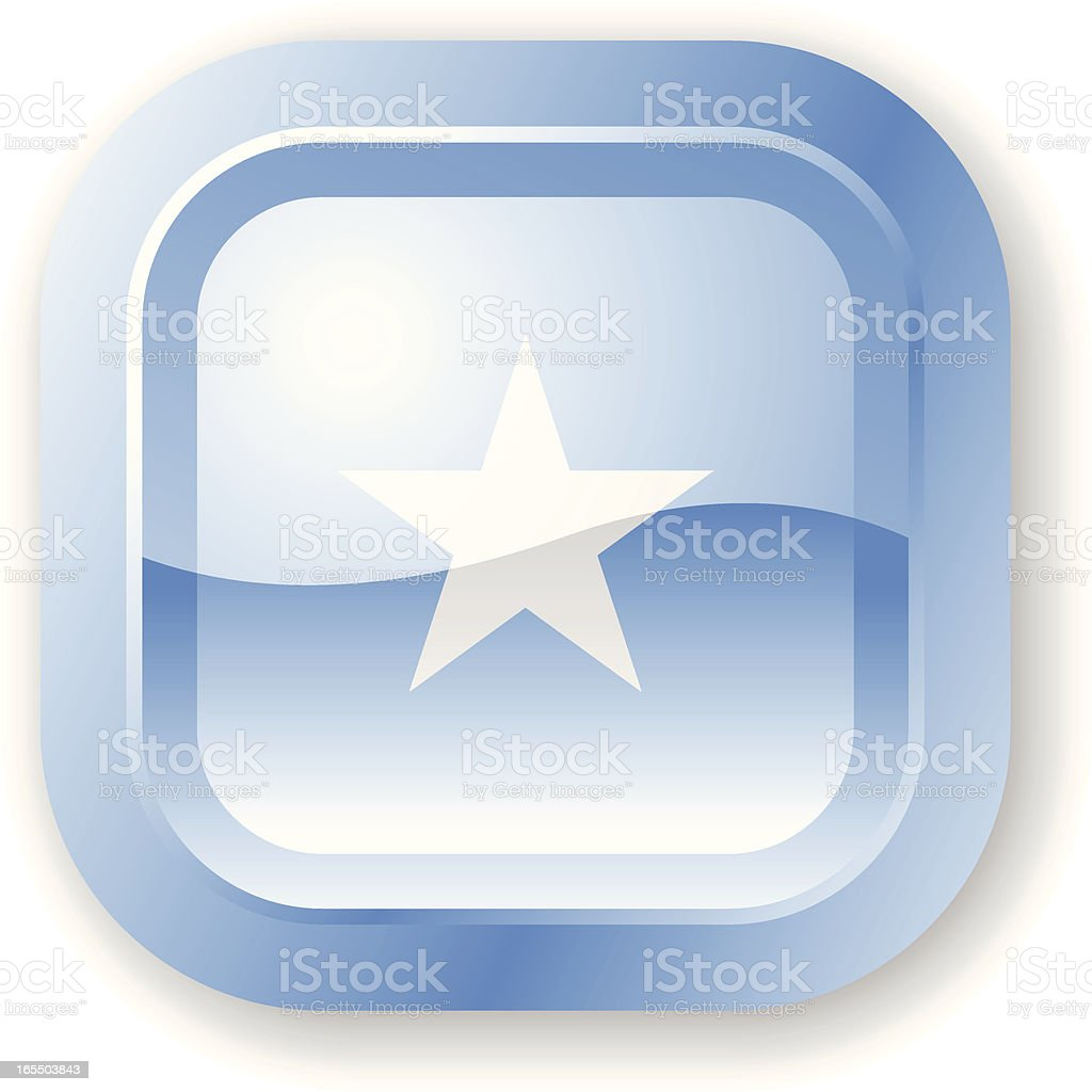Somalia Flag Icon royalty-free stock vector art