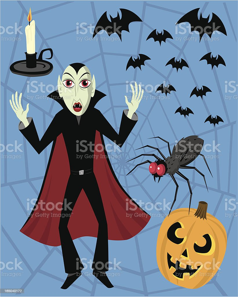 Something Spooky royalty-free stock vector art