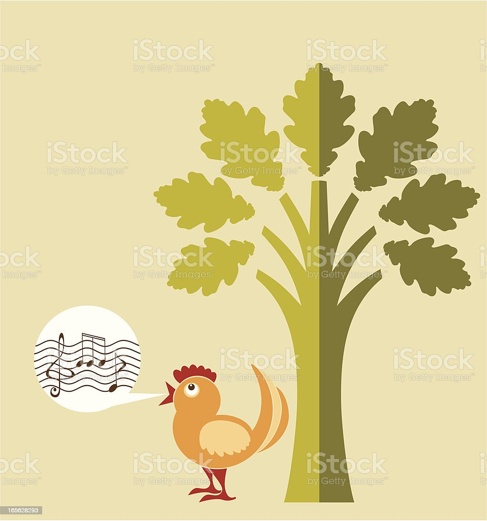 Song royalty-free stock vector art