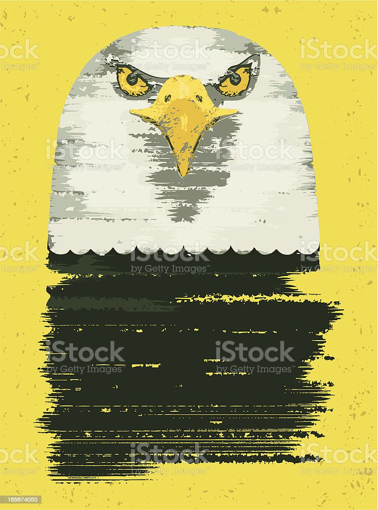 bald eagle royalty-free stock vector art