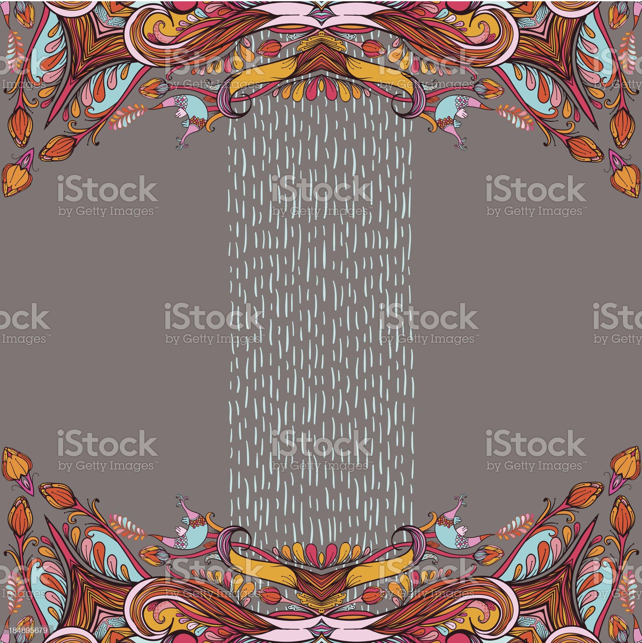 Soul of autumn royalty-free stock vector art