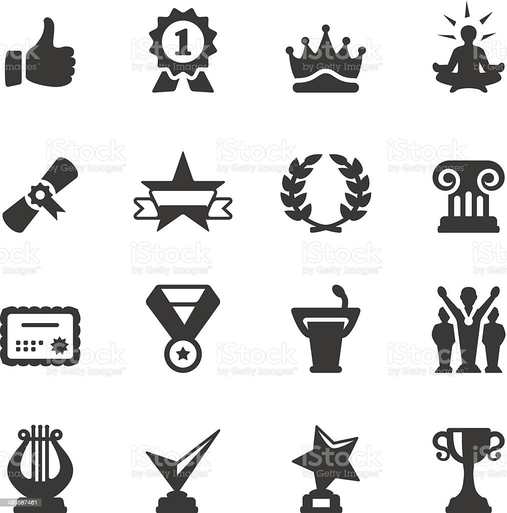 Soulico - Achievement royalty-free stock vector art