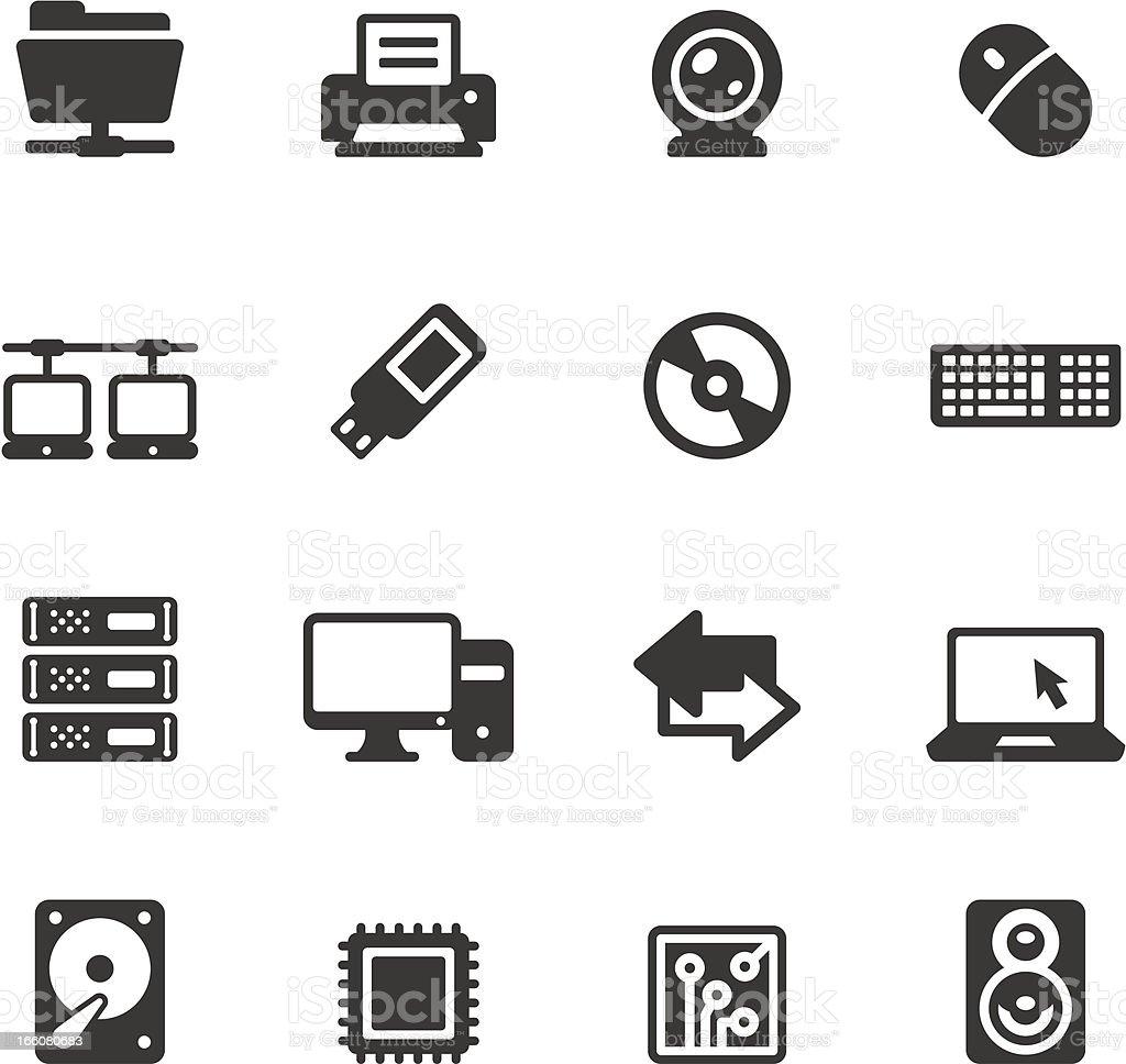 Soulico - Computers vector art illustration
