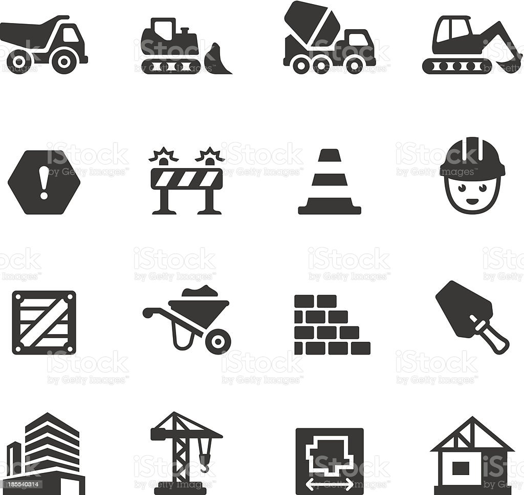 Soulico - Construction royalty-free stock vector art
