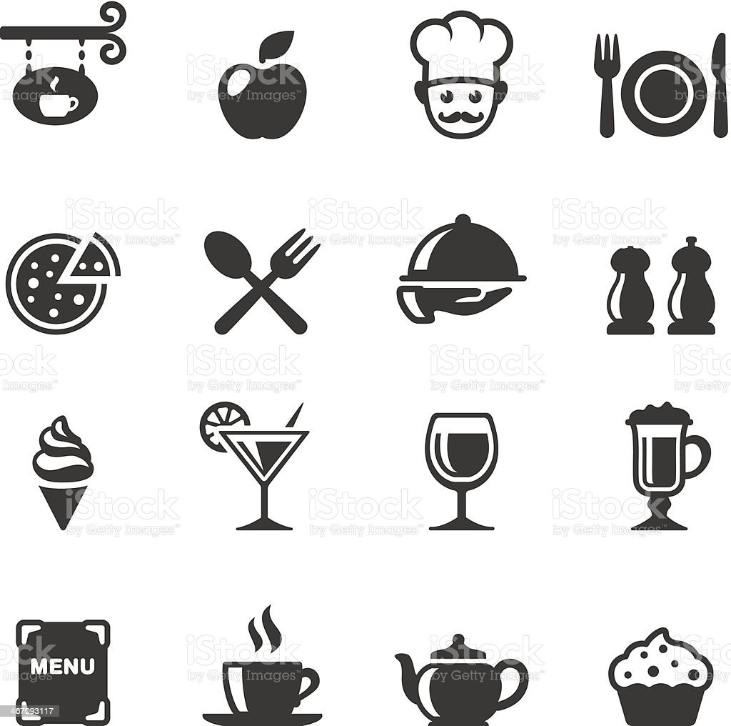 Soulico - Dining royalty-free stock vector art