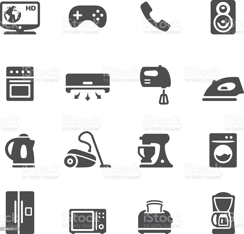 Soulico - Household Equipment vector art illustration