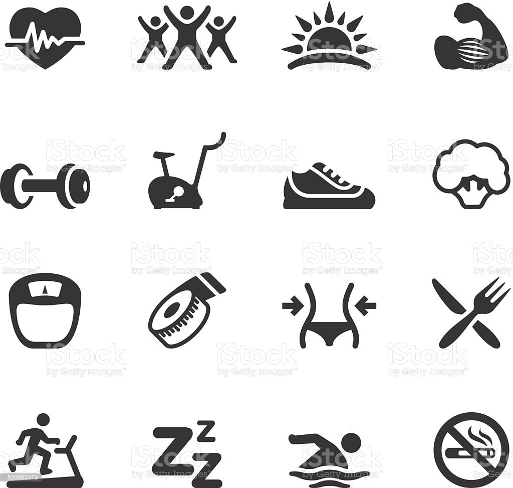 Soulico icons - Activity and Sport vector art illustration