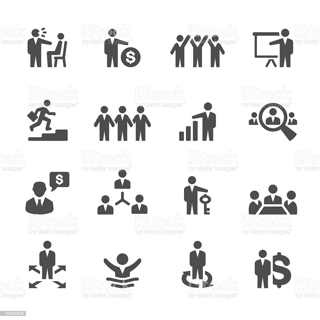 Soulico icons - Business Issues vector art illustration
