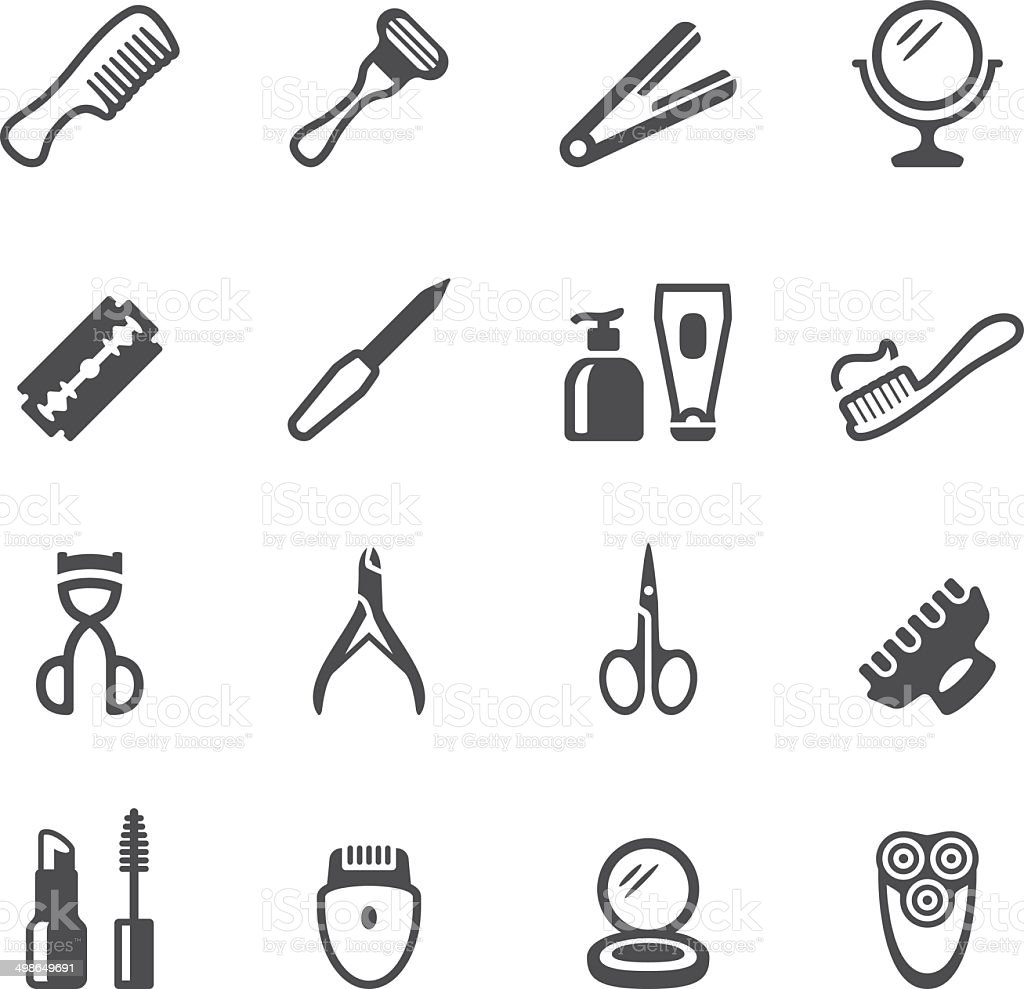 Soulico icons - Personal Accessory vector art illustration