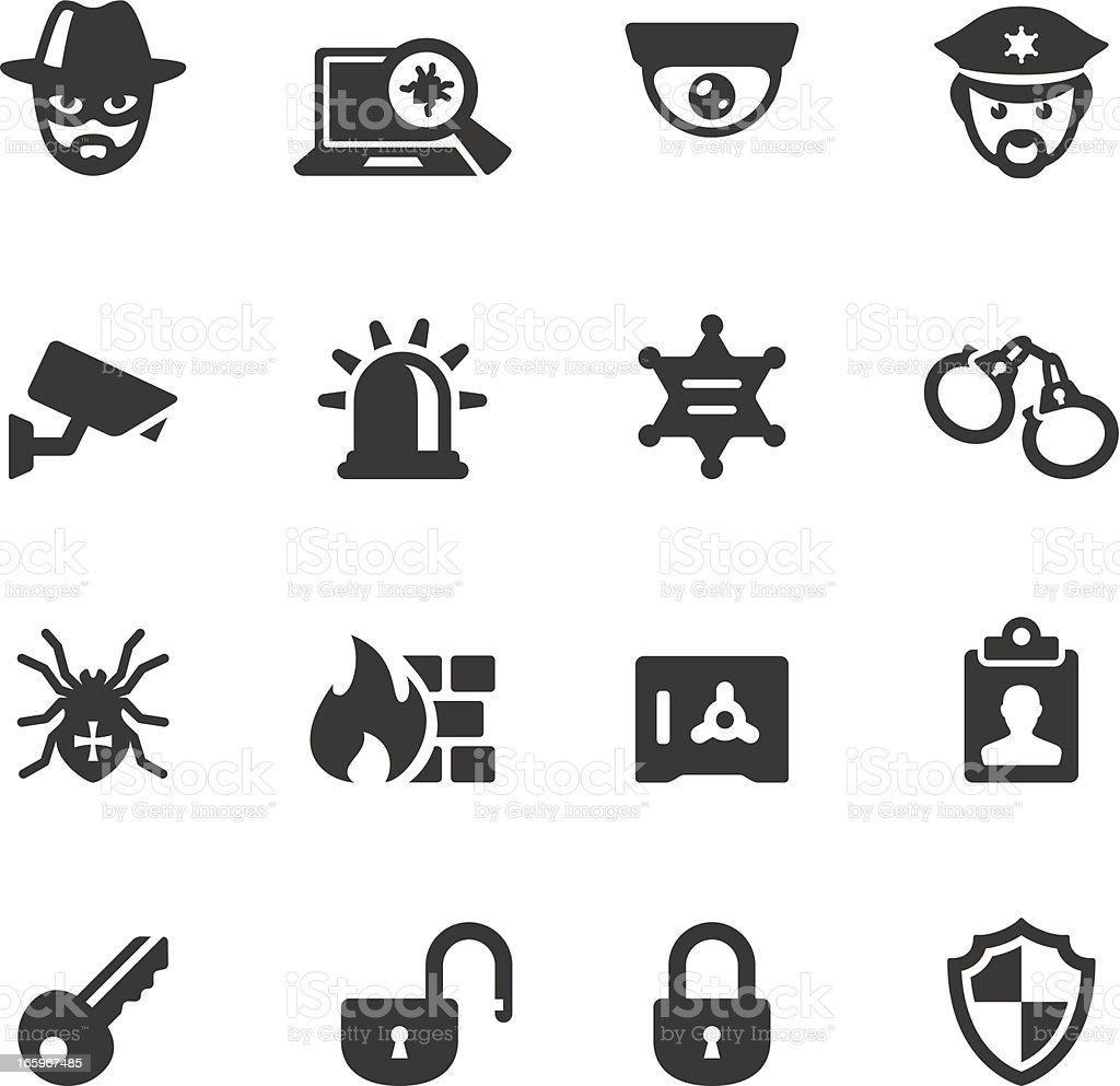Soulico - Security System vector art illustration