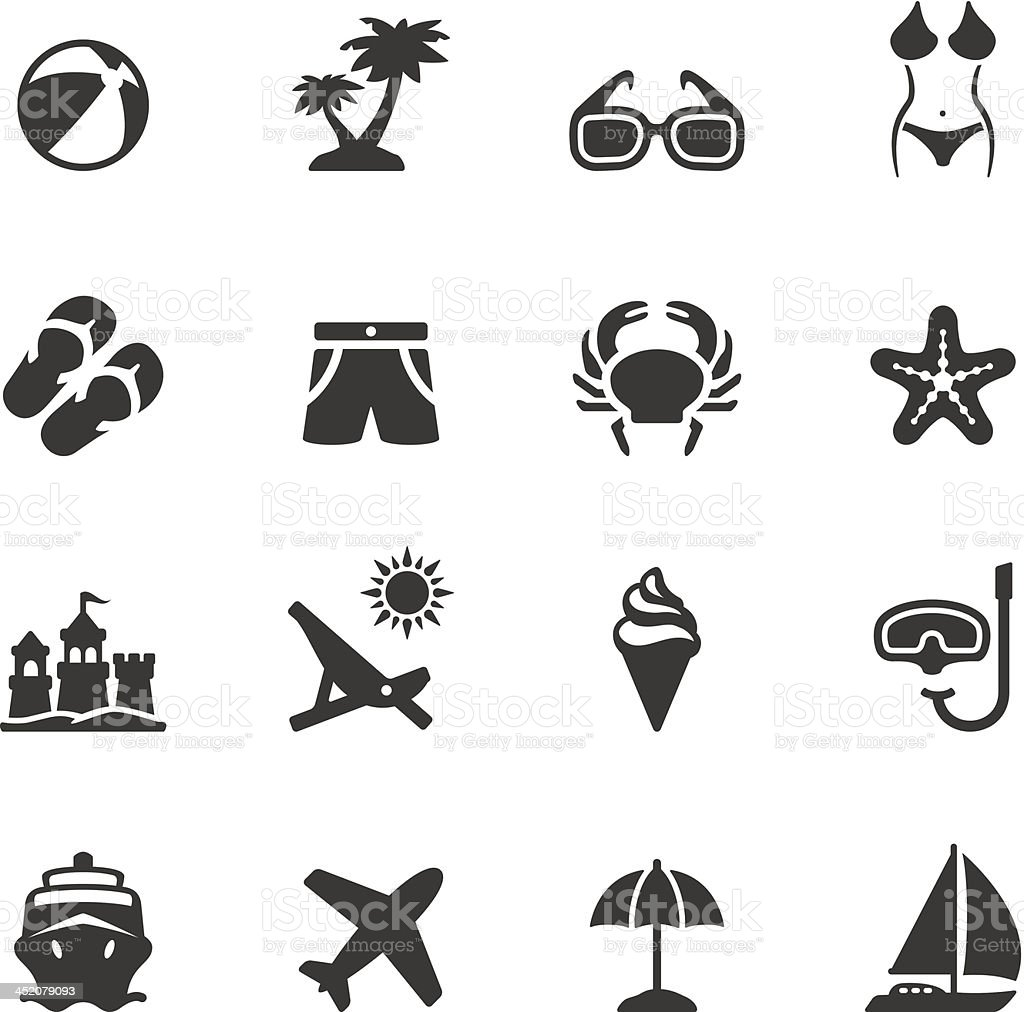 Soulico - Summer vector art illustration
