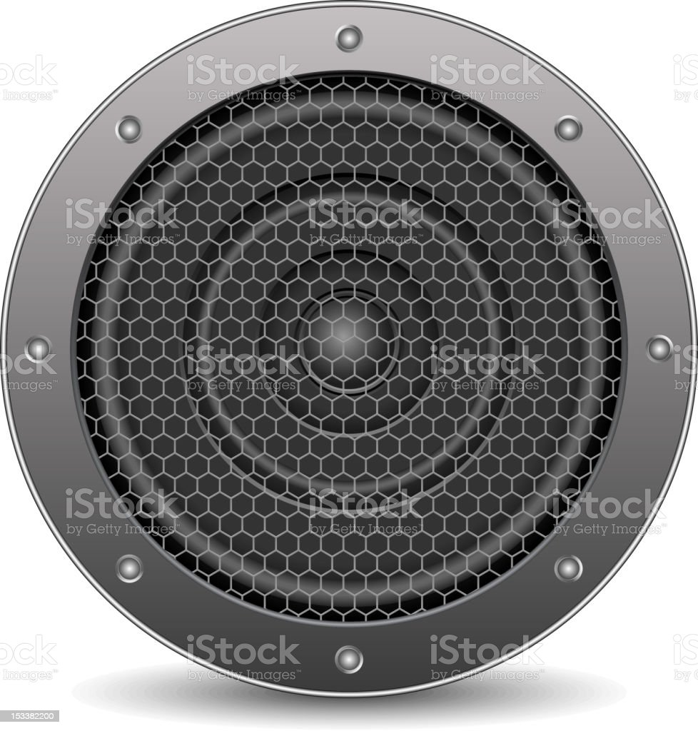 Sound Speaker stock photo