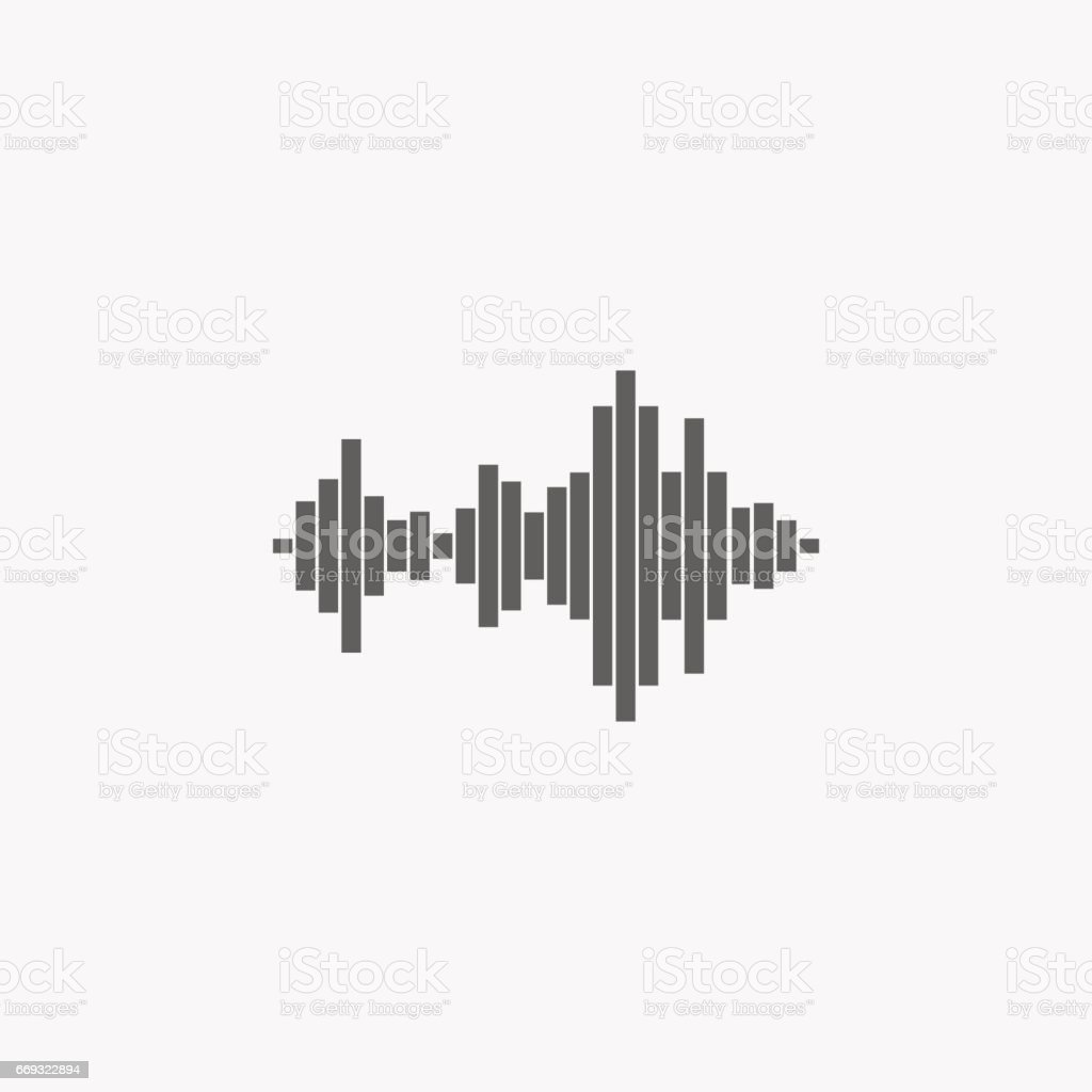 sound wave music icon stock vector art 669322894 istock