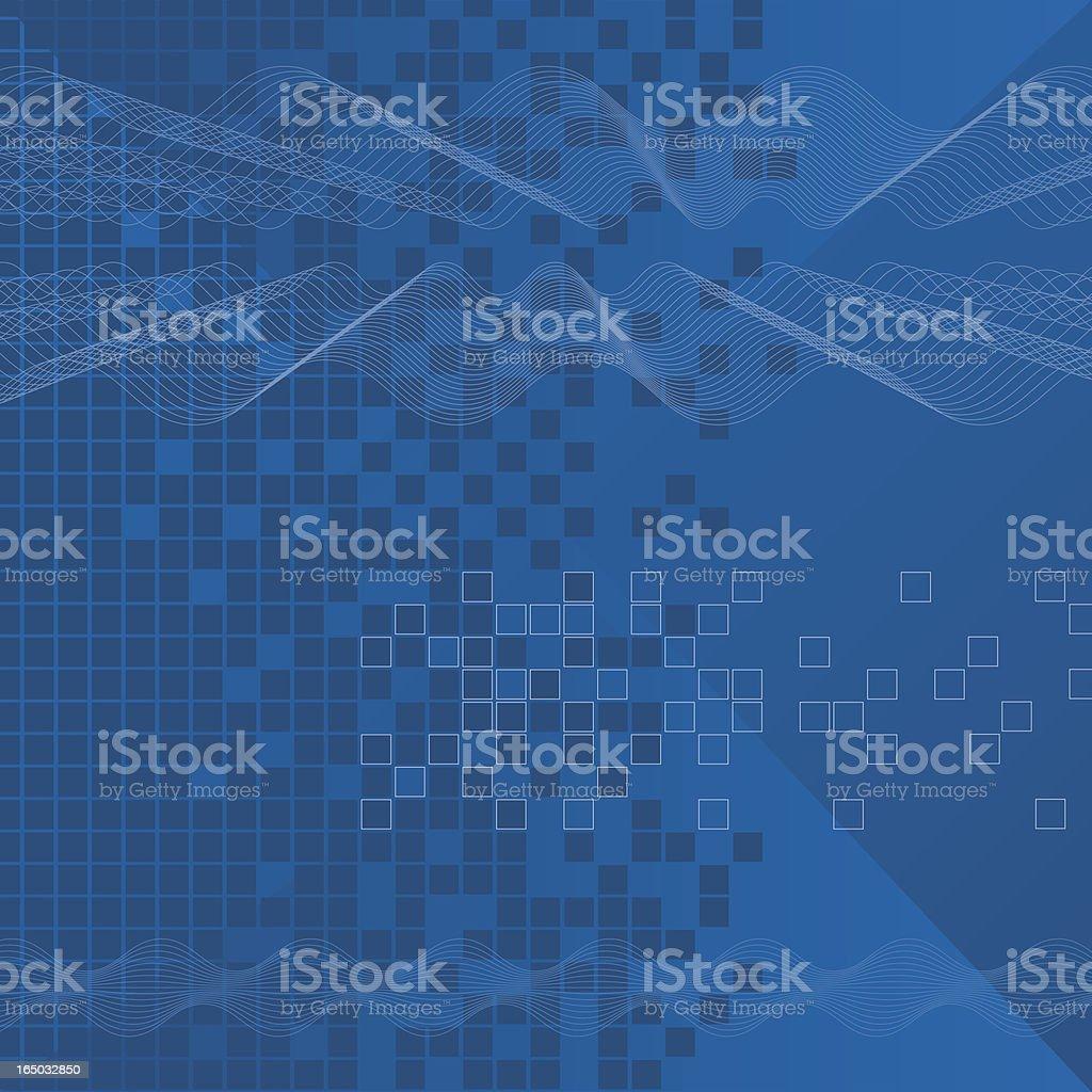 Soundwaves (vector) royalty-free stock vector art