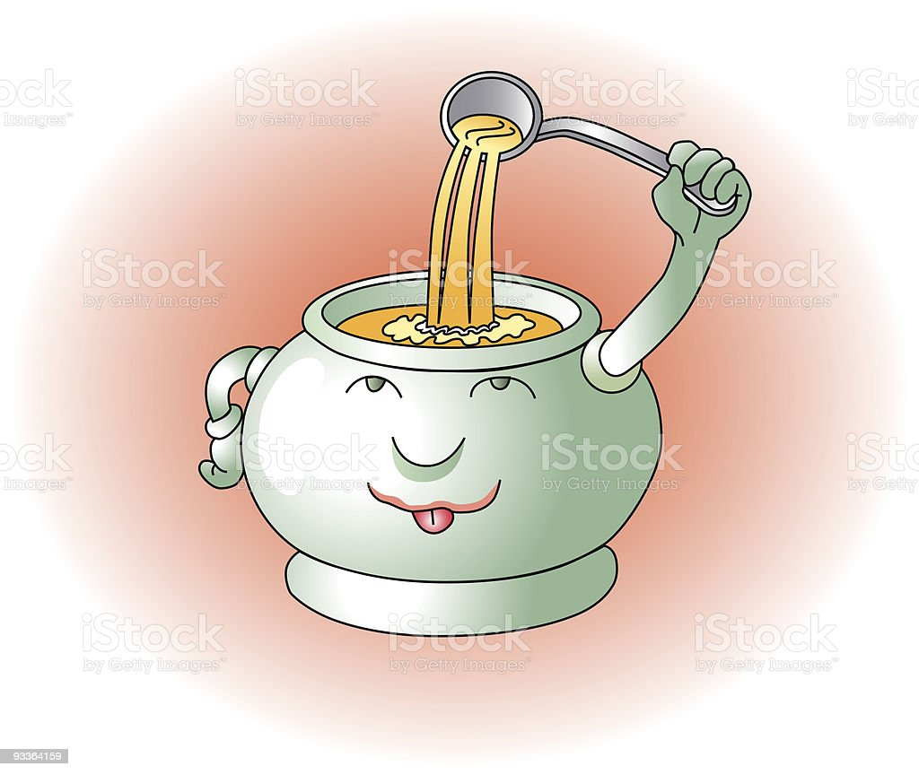 Suppe royalty-free stock vector art