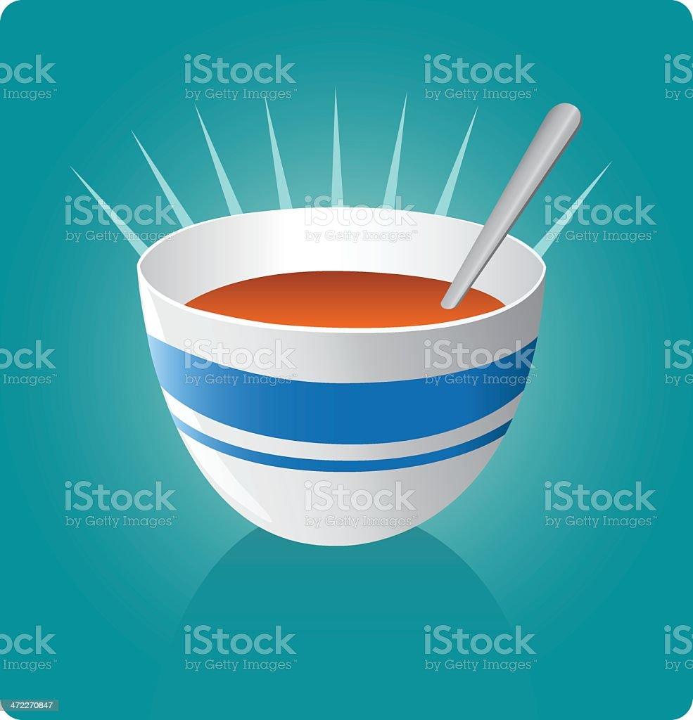 Soup [vector] vector art illustration