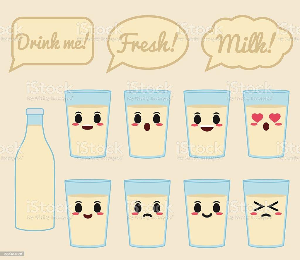 Soy milk illustration vector art illustration