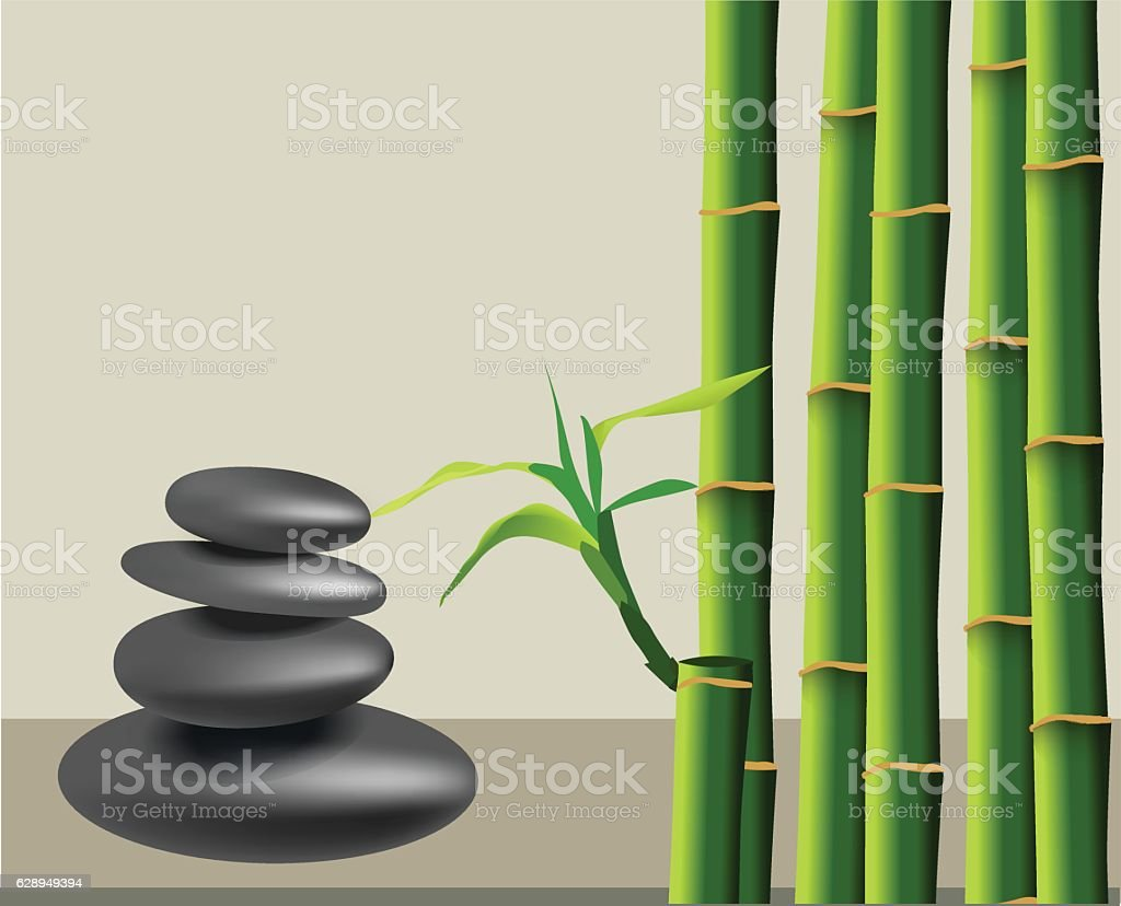 Spa and health care concept. vector art illustration
