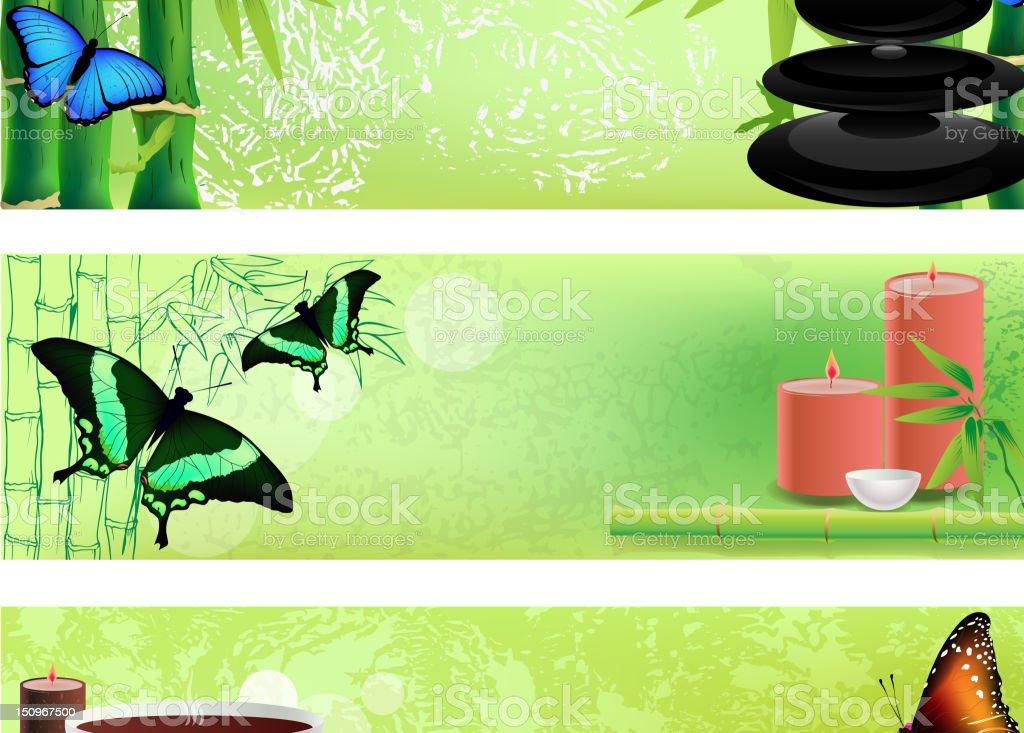 Spa and Zen vector art illustration