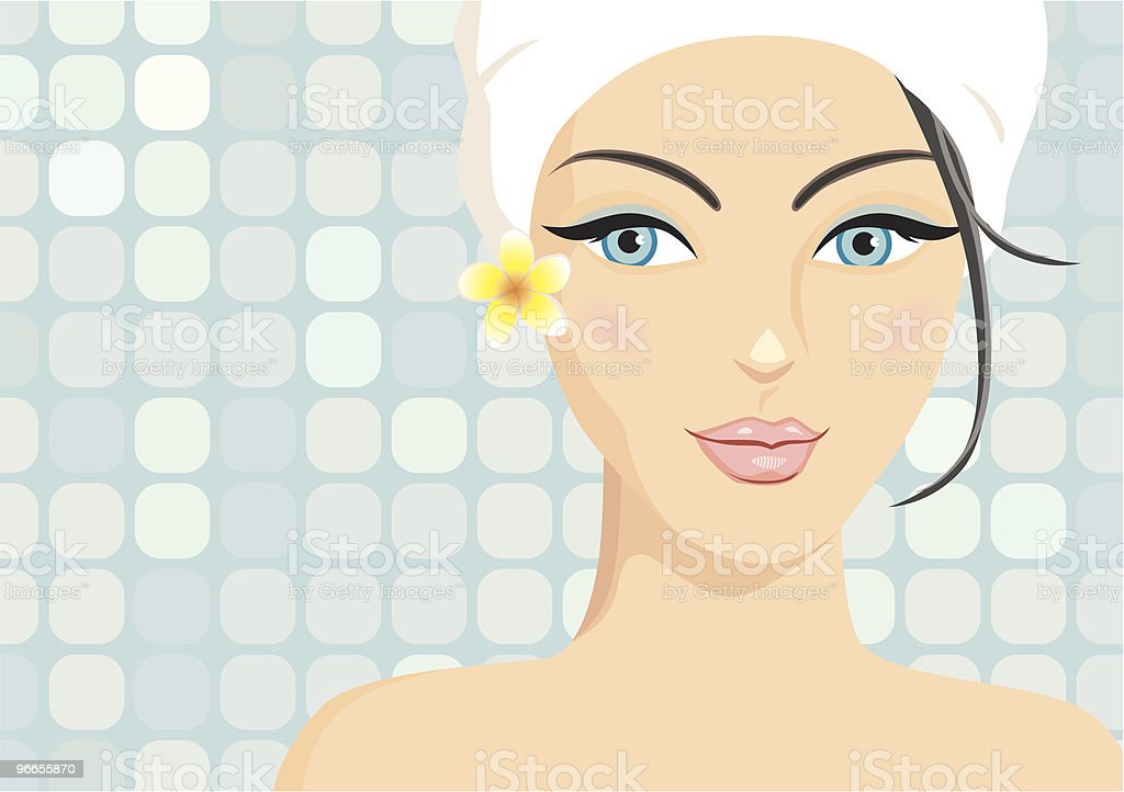 spa beauty royalty-free stock vector art