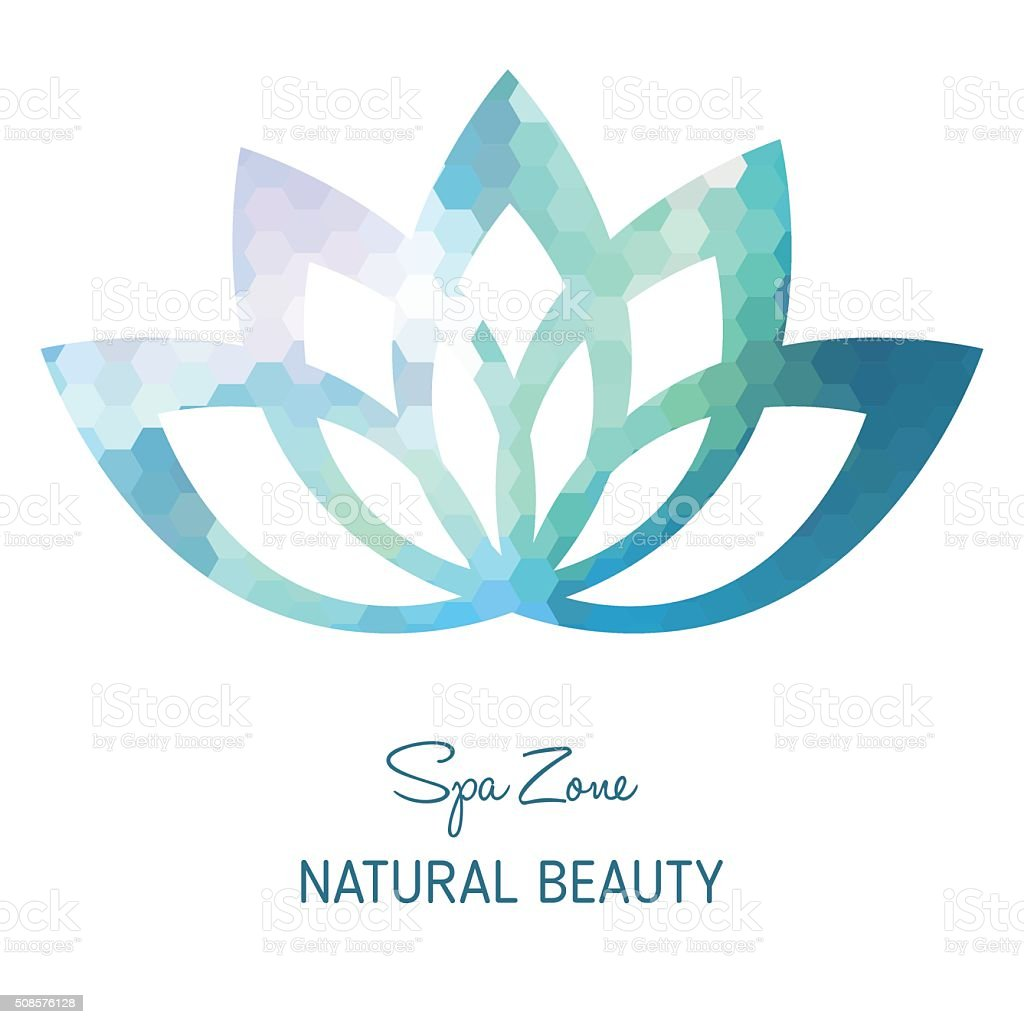 Spa Icon - Isolated On White Background vector art illustration