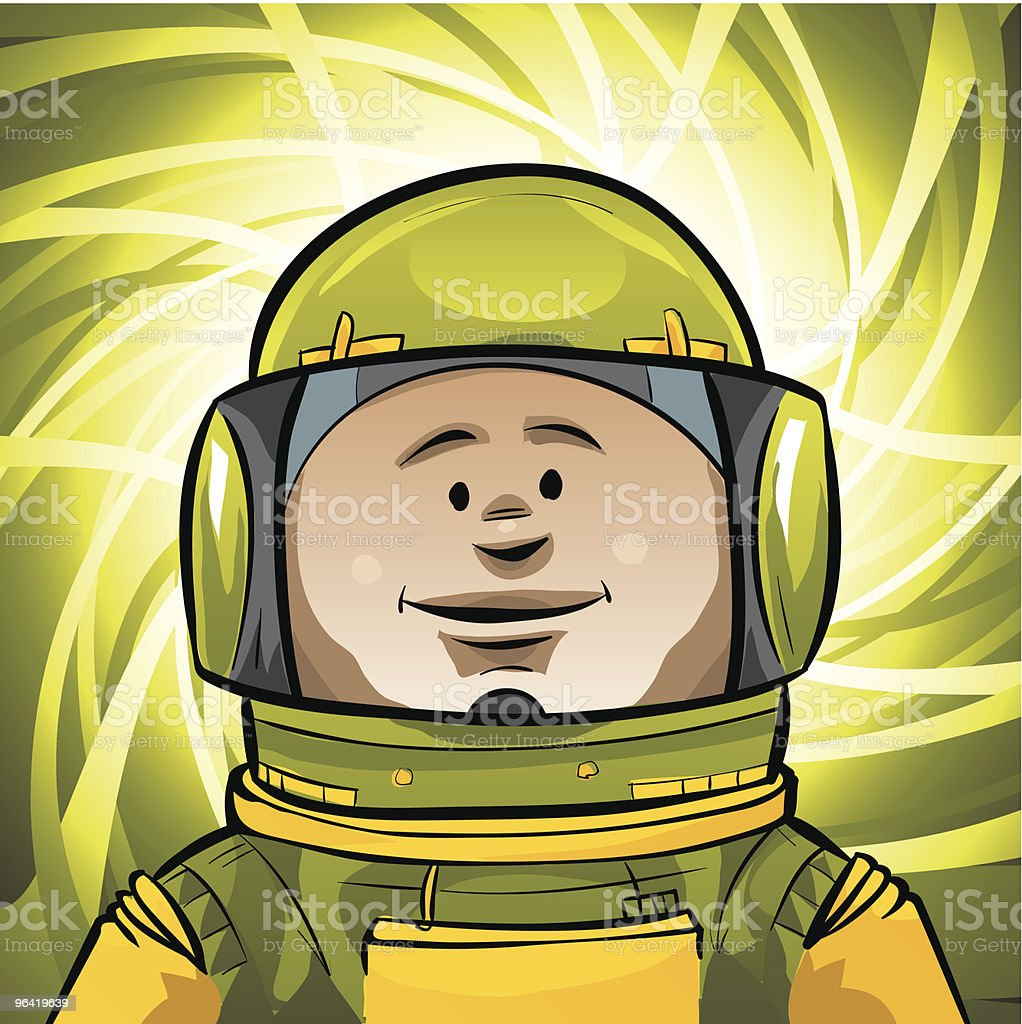 Space Explorer royalty-free stock vector art