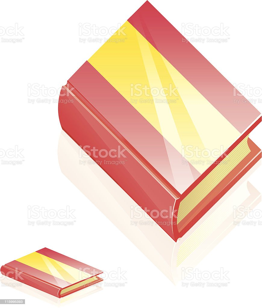 Spain Book Icon royalty-free stock vector art