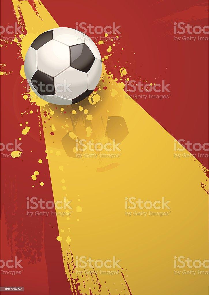 Spain Soccer Background royalty-free stock vector art