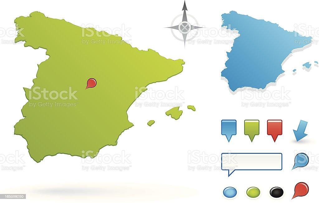 Spain royalty-free stock vector art