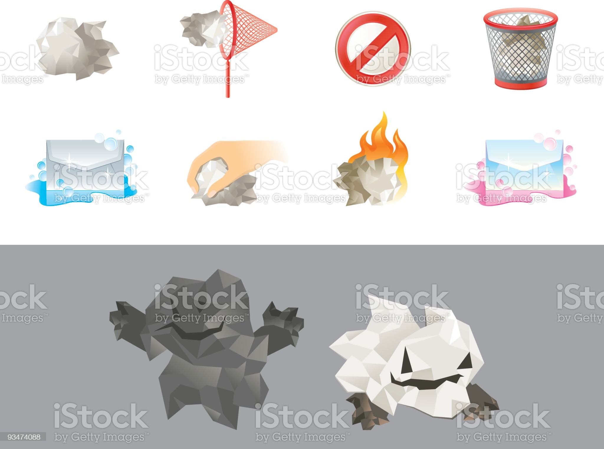 Spam royalty-free stock vector art