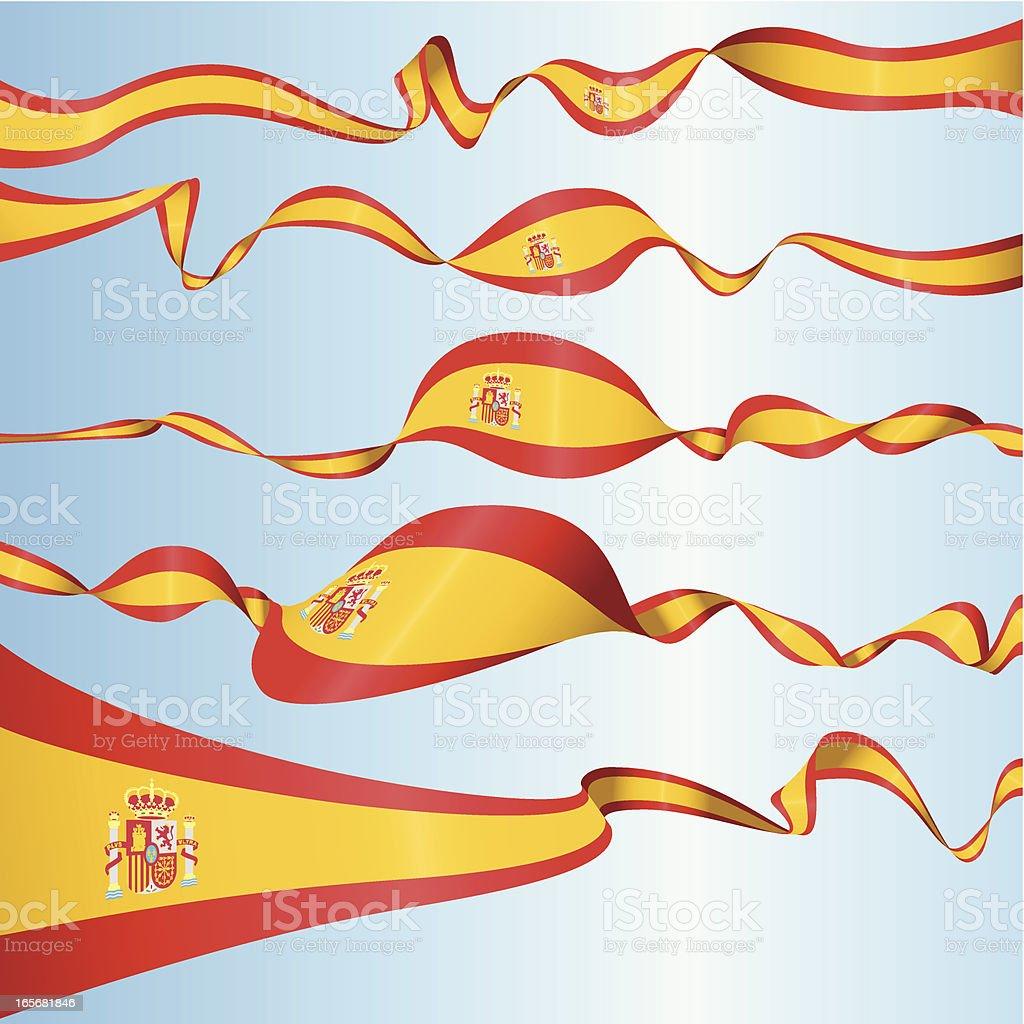 Spanish Banners royalty-free stock vector art