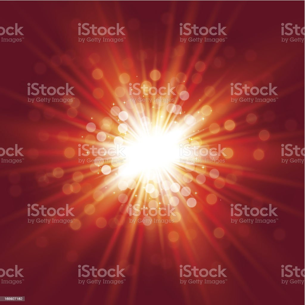 Sparkling red background royalty-free stock vector art