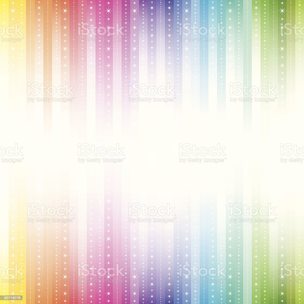 Sparkly spectrum background royalty-free stock vector art
