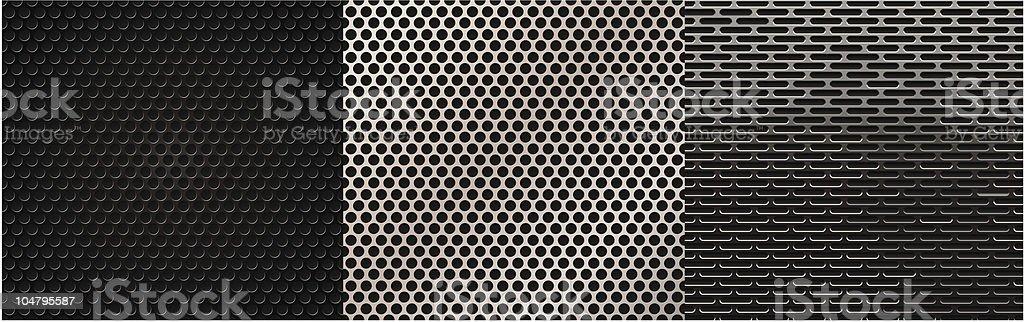Speaker grilles royalty-free stock vector art