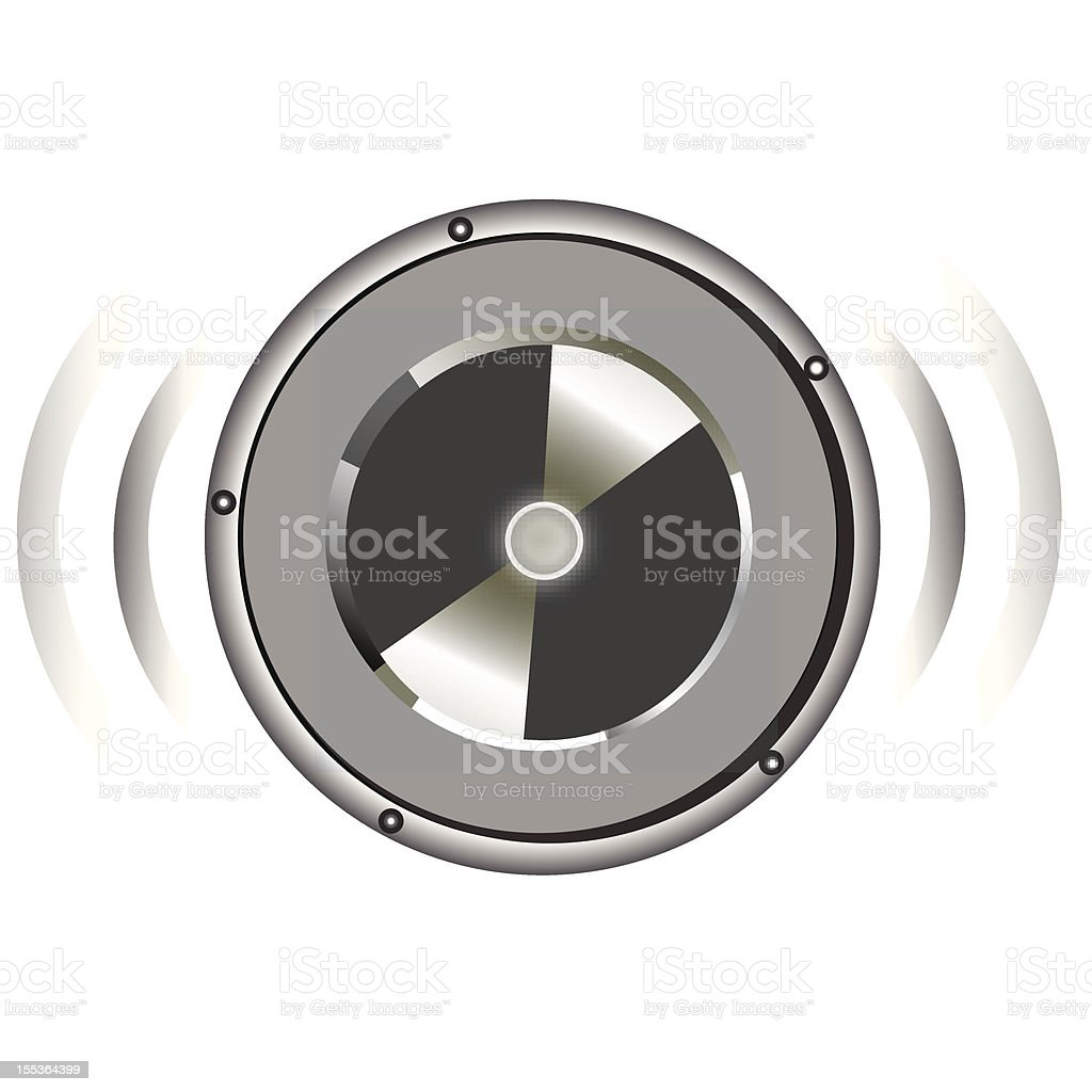 speaker royalty-free stock vector art