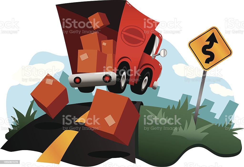 Special Delivery vector art illustration