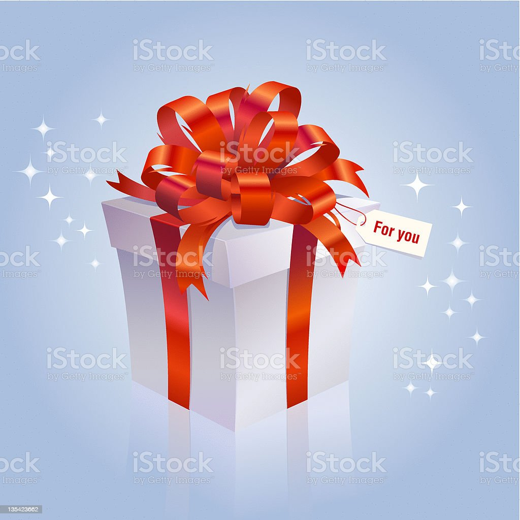 Special Gift royalty-free stock vector art