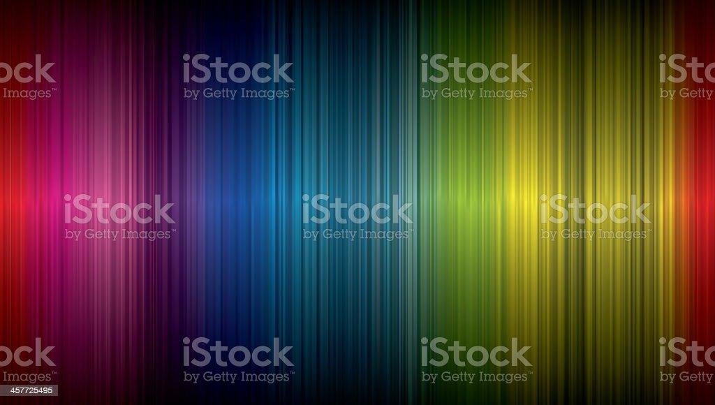 Spectrum abstract background vector art illustration
