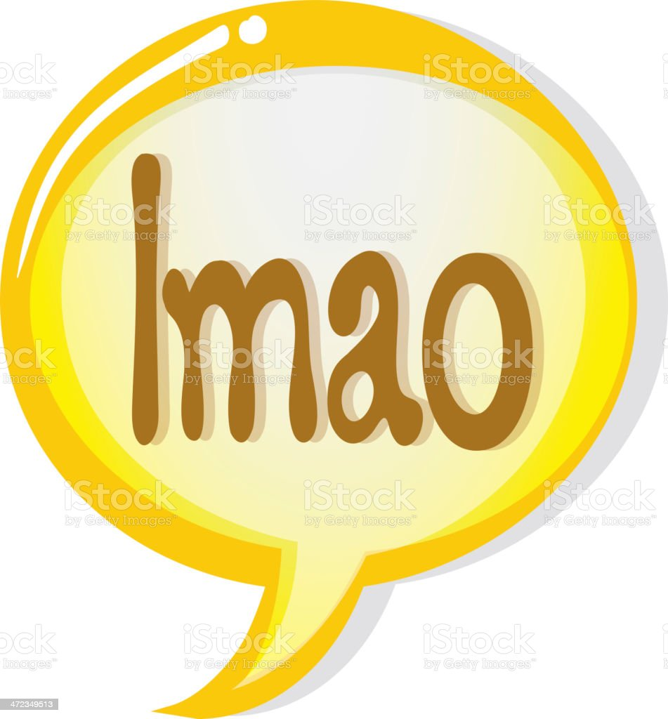 speech bubble and a callout royalty-free stock vector art